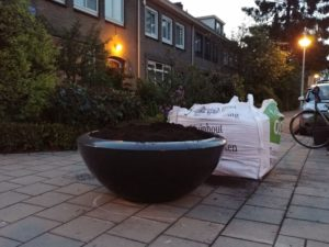 H. Bosmansstraat plantenbakken