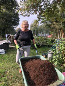 De Spijteltuin gebruikte tuinaarde van Bio-kultura een van de alternatieven voor turf in potgrond