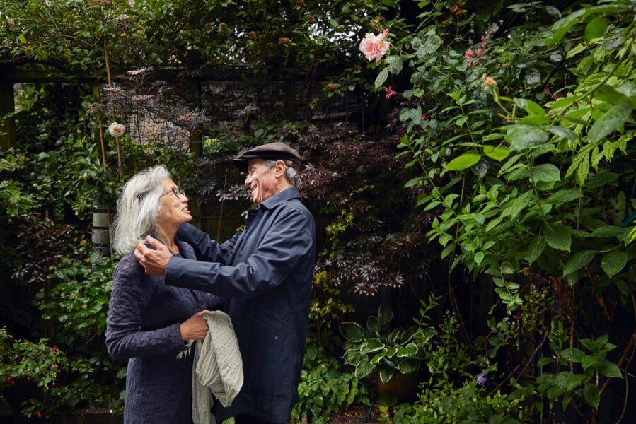 Bibi Rijken en zijn vrouw Dali Stofberg
